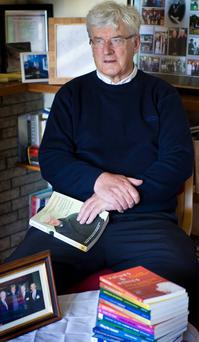 Clare native Fr Harry Bohan has championed rural development for 40 years . Photo: Kevin Byrne.