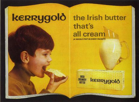 An early ad for Kerrygold
