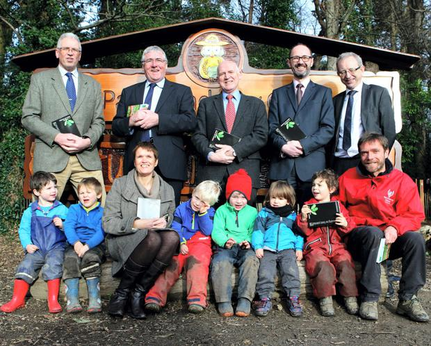The ITGA Yearbook launch at Ireland's first 'Nature Kindergastern'