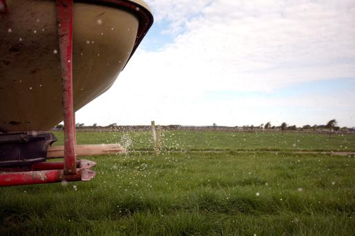 All fertiliser spreading is up to date.