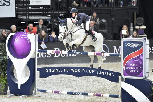 High Roller: Bertram Allen has qualified for the Longines FEI World Cup Final in Las Vegas