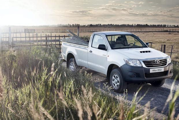 Farmer favourites Land Cruiser and Hilux will still be