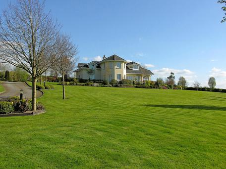Scenic: Griffinstown Glen at Grangecon, Co Wicklow stands on 36ac which includes landscaped gardens