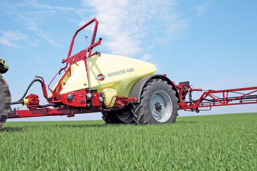All boom sprayers greater than 3m will need to be tested and certified by a registered inspector from November 2016