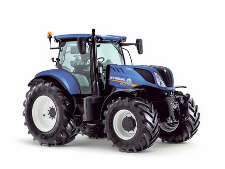 The New Holland T7