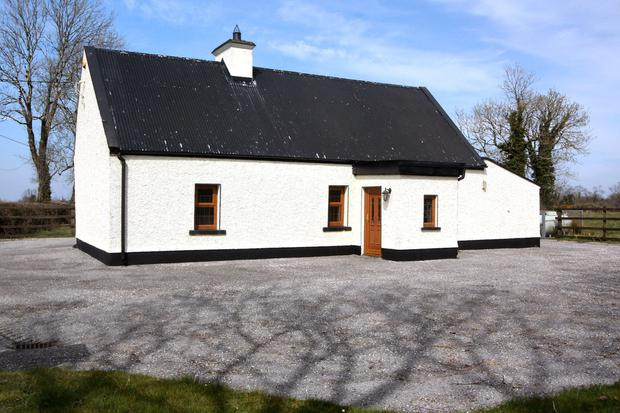 This cottage and 33ac of grassland along with 34ac of turbary is on the market at Kilcannon near Newtownforbes. Co Longford