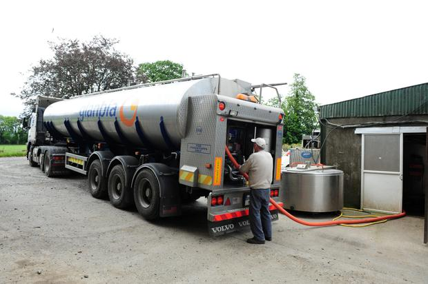 Contract: Glanbia requires farmers to sign milk supply agreements (MSAs)