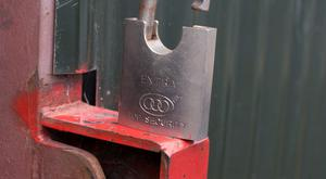 Secure your farm entrances with good locks