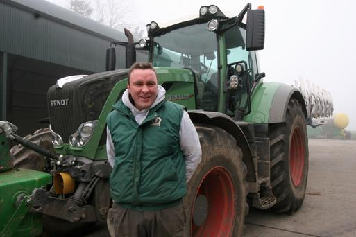 Upbeat: Kevin Nolan says the new sprayer regime will be good for crops and the environment