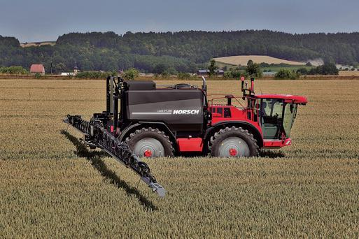 A 285hp Mercedes engine now powers the new Leeb PT 280 sprayer