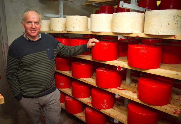 Tom Burgess from Tullow, Co Carlow has increased his herd from 100 to 132 cows and is using about 25pc of the milk for his Coolattin 'raw milk' cheddar cheese product
