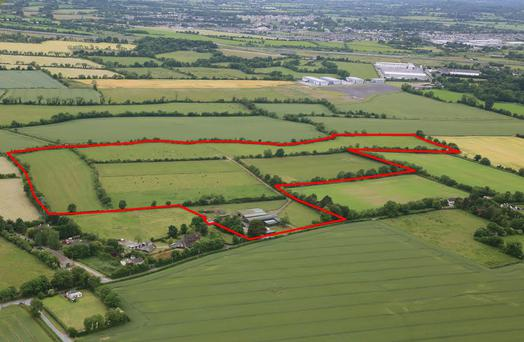 This farm at Portmanna, Dunboyne, Co. Meath has come on the market guided at €650,000 by Knight Frank auctioneers.