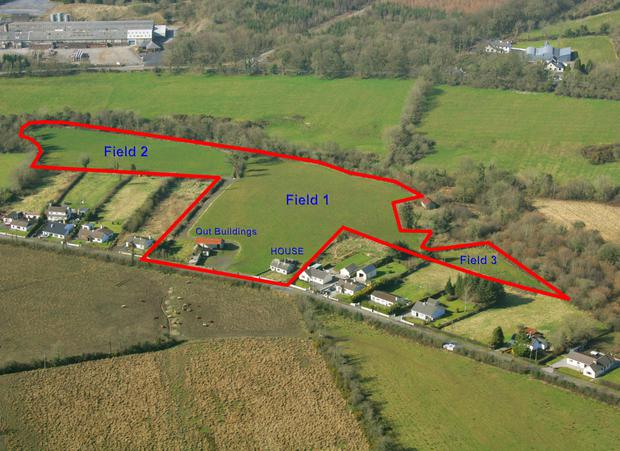 The 10ac holding is located near Castlecomer