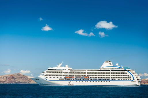 Wide blue yonder: Some elderly couples find it makes economic sense to sell their home and spend their remaining years on cruise ships