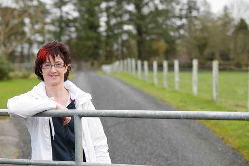 Health scare: Maura Canning didn't associate high blood pressure with the farming way of life. Photo: Andrew Downes