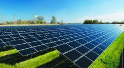'Meath County Council last year granted planning permission, with conditions attached, to Highfield Solar for a 150-hectare solar farm.' (stock image)