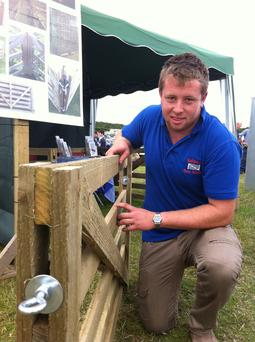 On a winner: Stephen Agar made his first gate as a transition year project. He has now sold over 2,500