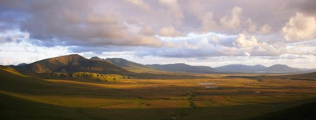 Majestic: Ballycroy National Park in north west Mayo extends to 11,000ha and is home to an extraordinary diversity of habitats. Photo: Andrew Gilmore