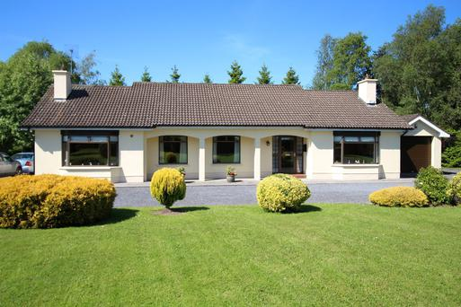 This four-bedroom bungalow on 10.2ac near Tara, Co Meath is guided at €470,000