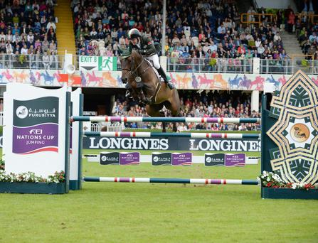 Greg Broderick will compete at the Longines Western European League opening event in Oslo.