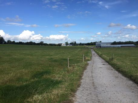 A 120ac farm at Newtown, Killeigh, Co Offaly was withdrawn from auction at €1.1375m.