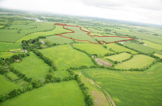 100ac at Mayne, Clonee, Co Meath sold to a Turkish investor for €1.5m