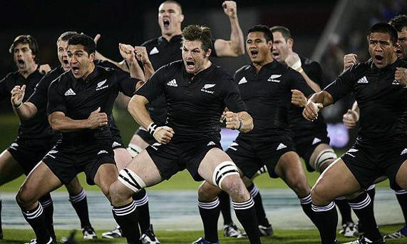 The Haka: putting Ireland's Call in the shade