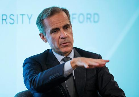 Bank of England Governor Mark Carney. Photo: Mark Carney