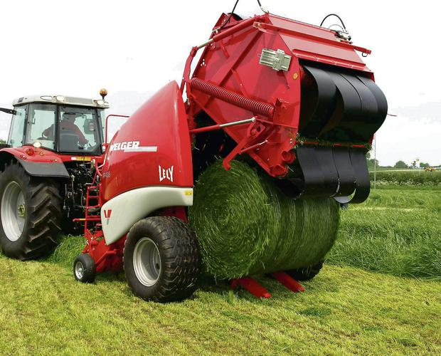 Round bale silage will be used as a buffer feed.