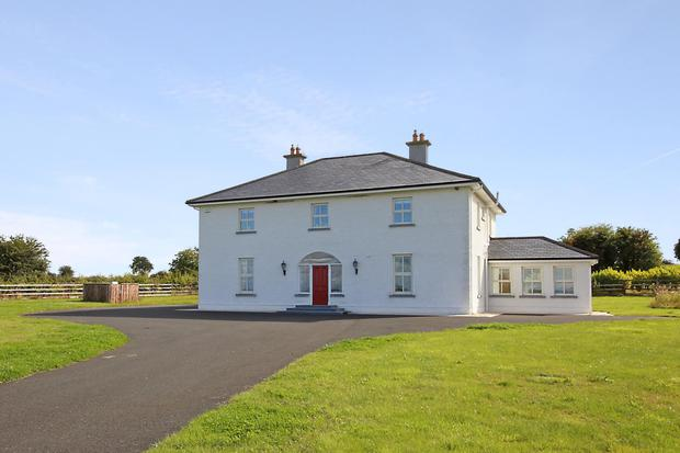 Poppy Hill, Durrow, Co Laois is for sale along with 7.5ac