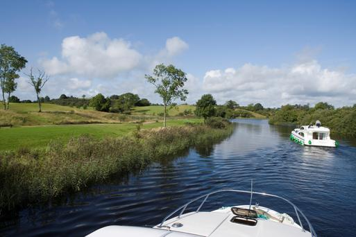 The upsurge in tourism on the River Shannon has given towns such as Drumsna an economic boost