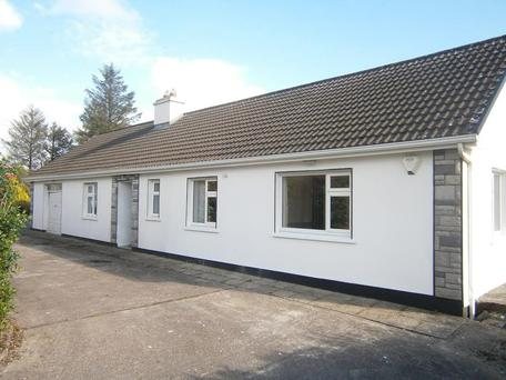 This four-bedroom bungalow stands on 19ac at Ballyduff, Co Waterford.