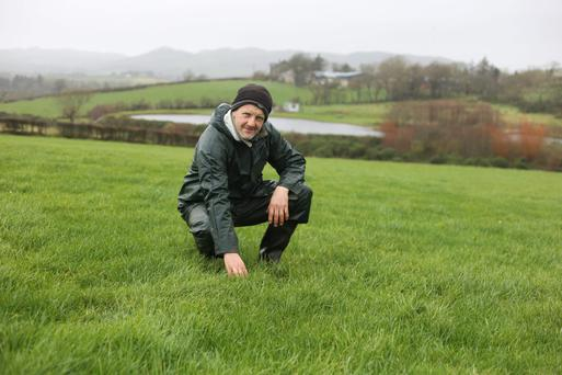 Michael Duffy pictured on his farm at Kerrykeel in Co Donegal