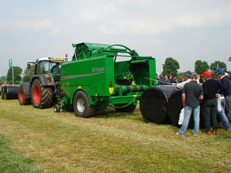 Irish manufactured machinery such as this McHale silage baler 'tends to be more rugged and of higher spec than anywhere else in the world', according to a new report.