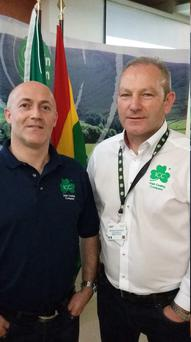 David Waters and Paul Daly of the Irish Casing company.