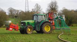 Less compaction and higher work rates make umbilical systems a great option for early spring spreading.