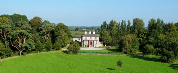 Hilton House on 38ac located near Mullinahone, midway between Kilkenny City and Clonmel. Photo: Eamonn Gosling