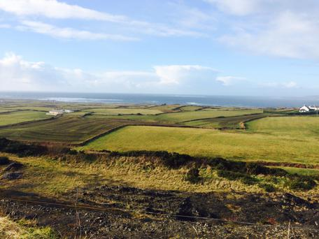 A 43ac farm at Dromin, Milltown Malbay, Co Clare is on the market at €325,000