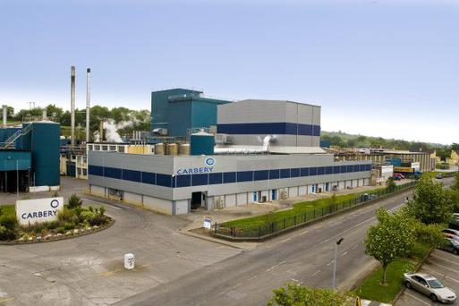 Carbery's dairy facilities are generating no less than the likes of Kerry or Dairygold's operations according to their CEO.