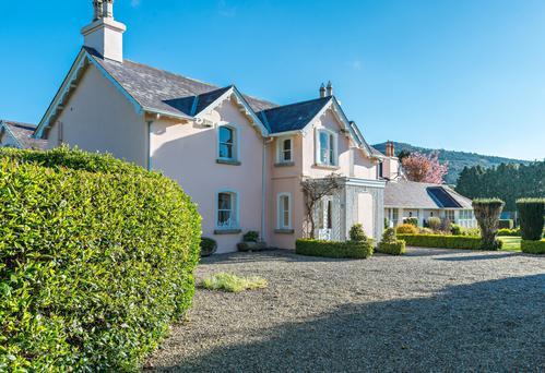 Myrtle Lodge is a substantial residence decorated to very high standards.