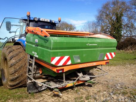 The Smiths were prepared to pay a premium price for an Amazone spreader that delivers cost savings