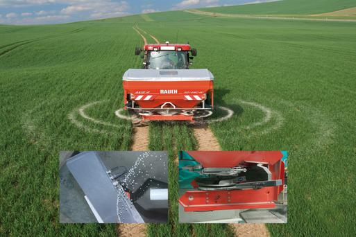 A new set of spreading vanes costs from €350 to €450, depending on make and model of spreader.