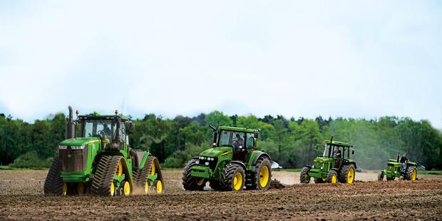 John Deere is to mark its 50th anniversary with a special field event in Nottiingham next September.