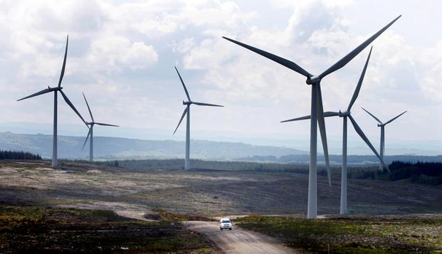 Future: Wind turbines can replace turf-burning power stations