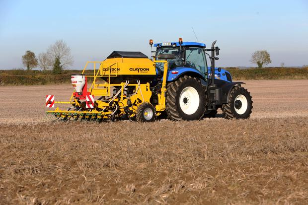 Noel Furlong's drill of choice is a 3m Claydon. The drill requires 150hp out front and is priced at €52,000 plus VAT.