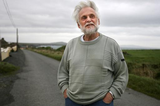 Jim Connolly pictured in Kilbaha, Co Clare.