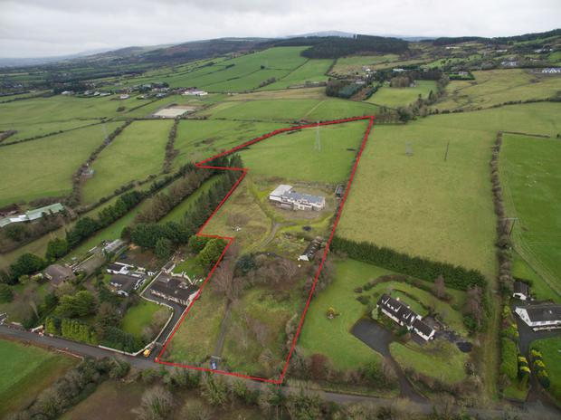 A 10.9ac parcel of ground with a partially completed house is on the market for €495,000 at Coolmine near Saggart in Co Dublin