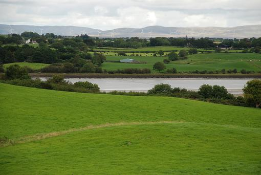 The view from the 16ac holding at Ballysakeery, Co Mayo which is guided at €10,000 per acre.