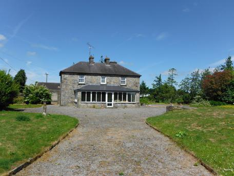 The Victorian-era residence at Kilpatrick, Co Westmeath stands on 100ac of grassland and 8ac of forestry.