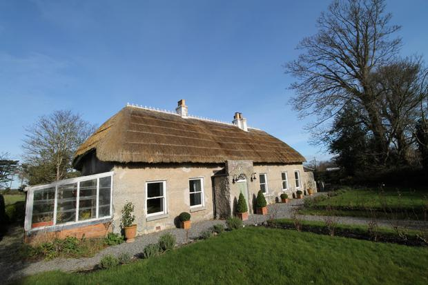 The 200-year-old cottage in Gormanston is in walk-in condition and stands on 10ac.